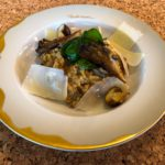 Einkorn-Pilz-Risotto