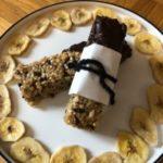 Bananen-Hanf-Müsliriegel