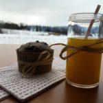 Orangen-Ingwer-Shot