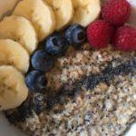 Mohn-Zimt-Porridge
